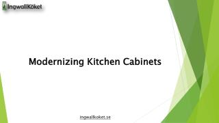 Modernizing Kitchen Cabinets