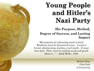 Young People and Hitler's Nazi Party