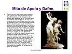 Mito de Apolo y Dafne.