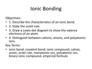 Ppt B Ionic Bonding And Structures Of Ionic Compounds Powerpoint