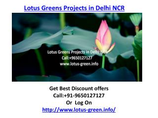 Lotus Greens Isle, Sector-98 Noida