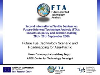 Future Fuel Technology Scenario and Roadmapping for Asia-Pacific