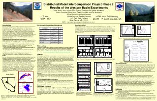 Distributed Model Intercomparison Project Phase 2:  Results of the Western Basin Experiments
