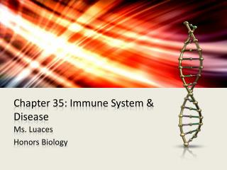 Chapter 35: Immune System & Disease