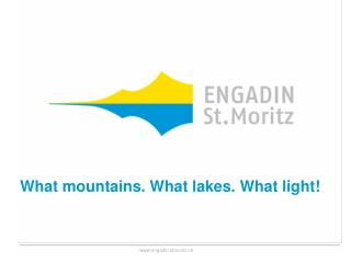 What mountains .  What lakes .  What light !