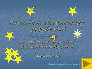 Do you know what your library can do for you?