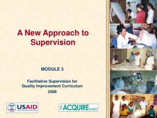A New Approach to Supervision