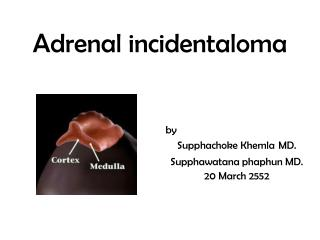Adrenal incidentaloma