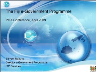 The Fiji e-Government Programme