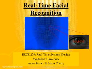 Real-Time Facial Recognition