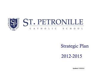 Strategic Plan                       2012-2015