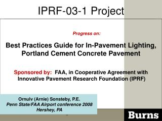 IPRF-03-1 Project