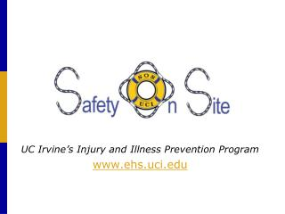 UC Irvine's Injury and Illness Prevention Program ehs.uci