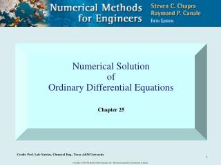 Numerical Solution of Ordinary Differential Equations Chapter 25