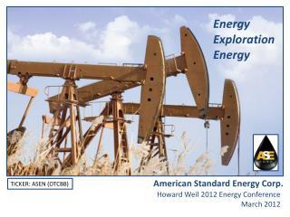 Energy Exploration Energy