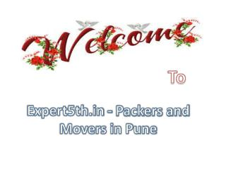 Expert5th.in Provide Best Packers for Pune City
