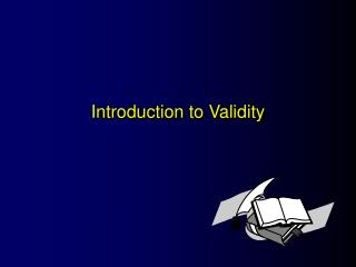 Introduction to Validity