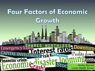 Four Factors of Economic Growth