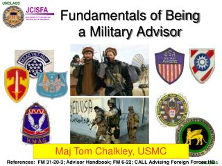 Fundamentals of Being a Military Advisor