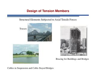 Design of Tension Members