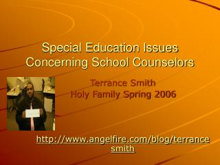 Special Education Issues Concerning School Counselors