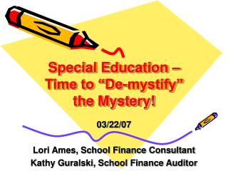 Special Education - Fiscal Overview