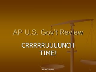 AP U.S. Gov't Review