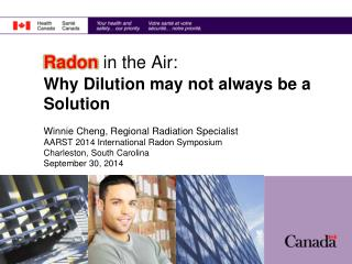 Radon  in the Air: