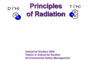 Principles of Radiation