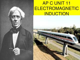 AP C UNIT 11 ELECTROMAGNETIC INDUCTION