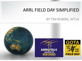 ARRL FIELD DAY SIMPLIFIED