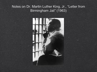 martin luther king jr letter from birmingham jail summary ppt mlk letter from birmingham analysis powerpoint 23585