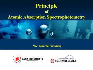 Principle  of  Atomic Absorption Spectrophotometry