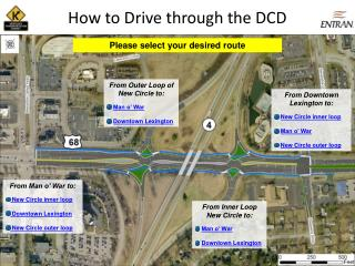 How to Drive through the DCD