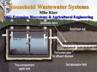 Household Wastewater Systems Mike Kizer OSU Extension Biosystems & Agricultural Engineering