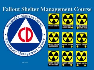 Fallout Shelter Management Course