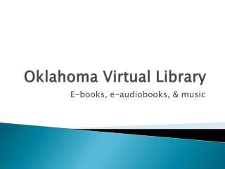 Oklahoma Virtual Library