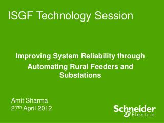 ISGF Technology Session