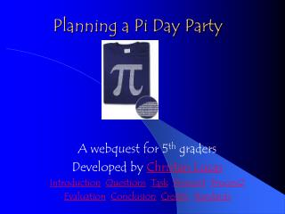 Planning a Pi Day Party