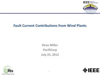 Fault Current Contributions from Wind Plants
