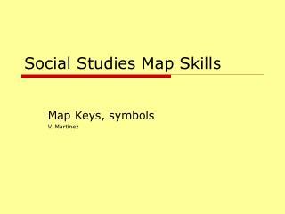 Social Studies Map Skills