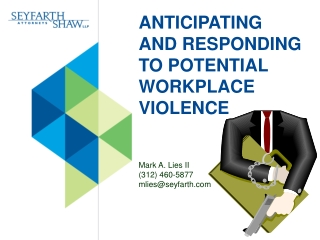 Chapter 3:  Commonly Committed Workplace Torts