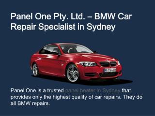 Panel One - BMW Specialist in Sydney