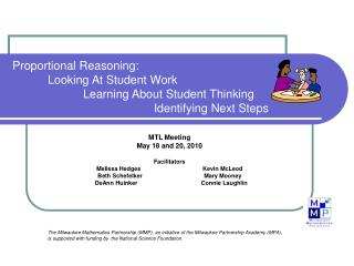Proportional Reasoning: Looking At Student Work Learning About Student Thinking Identifying Next Steps