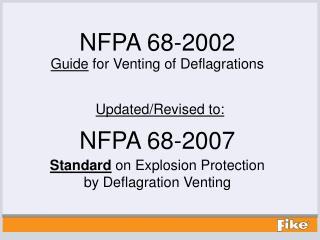 NFPA 68-2007