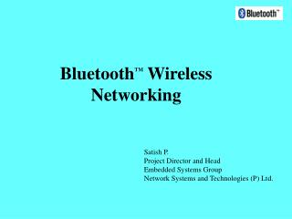 Bluetooth TM  Wireless Networking