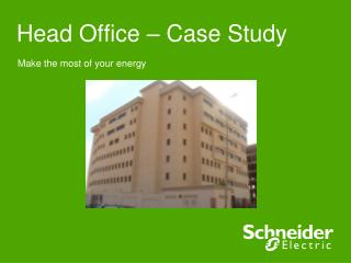 Head Office – Case Study