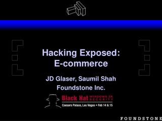 Hacking Exposed: E-commerce