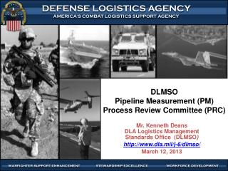 DLMSO Pipeline Measurement (PM) Process Review Committee (PRC)
