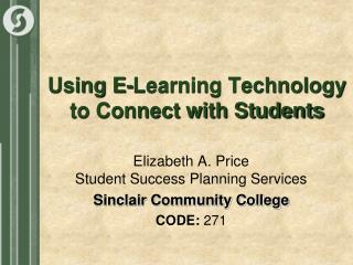 Using E-Learning Technology to Connect with Students